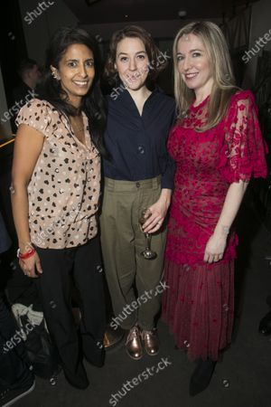 Konnie Huq, Gemma Whelan (Kate) and Victoria Coren Mitchell