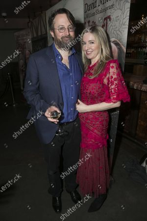Stock Photo of David Mitchell (Shakespeare) and Victoria Coren Mitchell