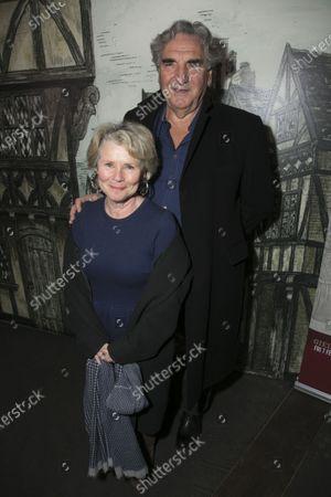 Imelda Staunton and Jim Carter
