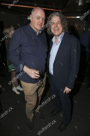 Dara O Briain and Alan Davies