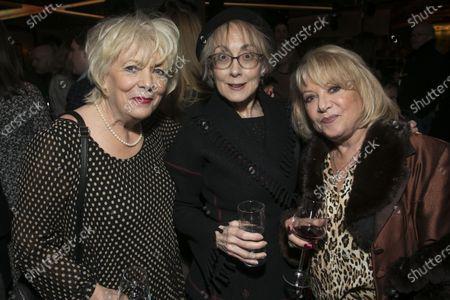 Alison Steadman, Paula Wilcox and Elaine Paige