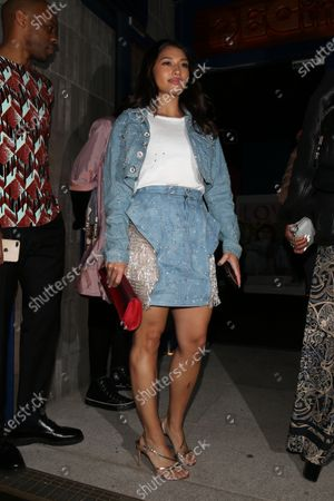 Editorial picture of Love Magazine Party, Arrivals, Fall Winter 2020, London Fashion Week, UK - 17 Feb 2020