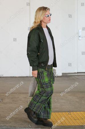 Editorial photo of Georgia May Jagger at Los Angeles International Airport, USA - 17 Feb 2020