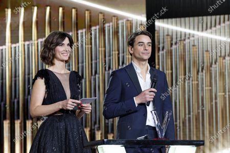 Eglantine Emeye and Julien Bugier
