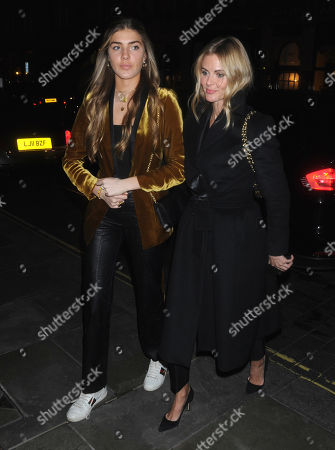 Stock Photo of Freya Air Aspinall and Donna Air