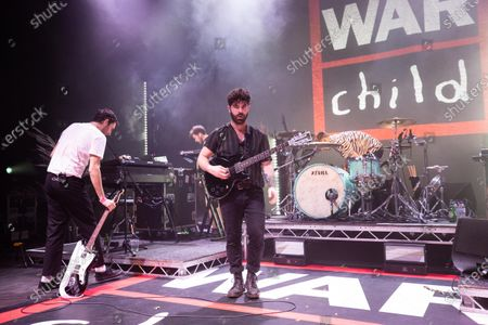 Foals - Jimmy Smith, Edwin Congreave, Yannis Philippakis and Jack Bevan