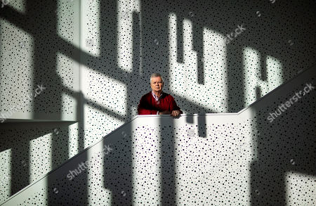 "Brown University professor Stephen Kinzer, author of a book on the mind-control experiment backed by the CIA which gave large doses of LSD to prisoners including James ""Whitey"" Bulger, stands outside his office, in Providence, R.I. ""During its peak in the 1950s, that program and it's director, Sidney Gottlieb, left behind a trail of broken bodies and shattered minds across three continents"