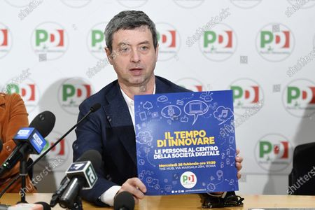 Editorial picture of Democratic Party present their 'Plan for Italy', Rome, Italy - 13 Feb 2020