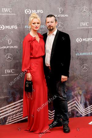Franziska Knuppe and Christian Moestl
