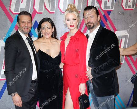 Kai Wiesinger, friend Bettina Zimmermann, Franziska Knuppe and Christian Moestl