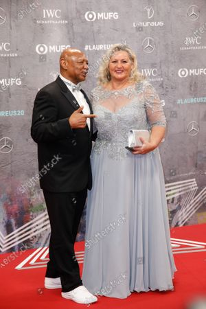 Marvelous Marvin Hagler and wife