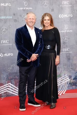 Sean Fitzpatrick and wife