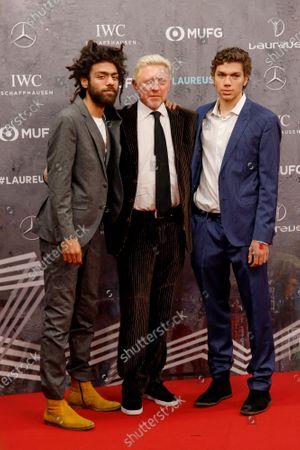 Boris Becker, Sohn Noah Becker, Sohn Elias Becker
