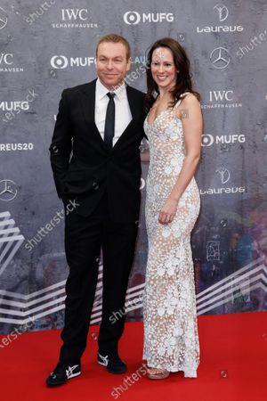 Chris Hoy and wife Sarra Kemp