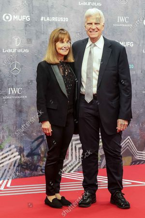 Mark Spitz, wife, Suzy Weiner