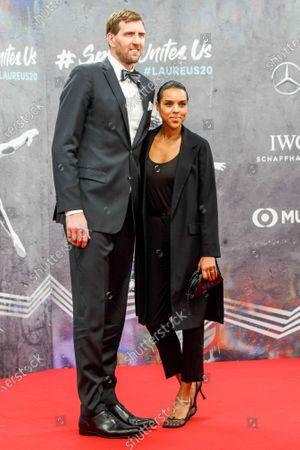 Dirk Nowitzki, wife Jessica Olsson
