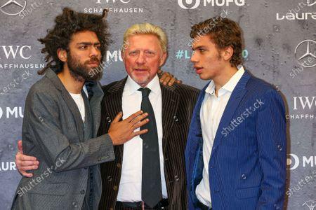 Noah Becker, Boris Becker, Elias Becker