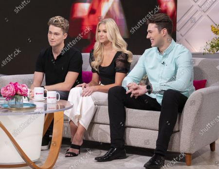 AJ Pritchard, Abbie Quinnen and Curtis Pritchard