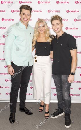 Curtis Pritchard, Abbie Quinnen and AJ Pritchard
