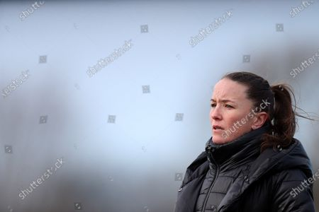 Manchester United Women FC manager Casey Stoney