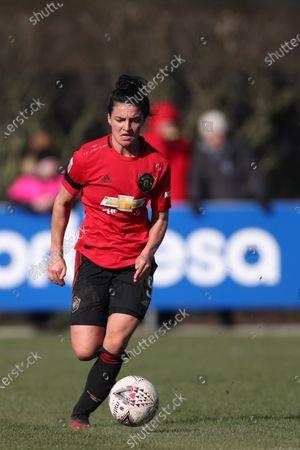 Jess Sigsworth of Manchester United Women FC