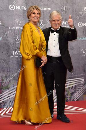 Giacomo Agostini mit Ehefrau Maria Agostini