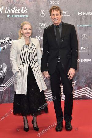 Tony Hawk und Catherine Goodman