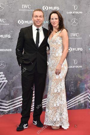 Chris Hoy und Ehefrau Sarra Kemp