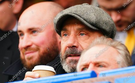 Former Chelsea player and manager Gianluca Vialli, recently diagnosed with pancreatic cancer, attends the match