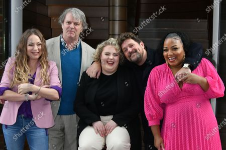 Rita Simons, Paul Merton, Lizzie Bea, Michael Ball and Marisha Wallace