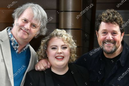 Paul Merton, Lizzie Bea and Michael Ball