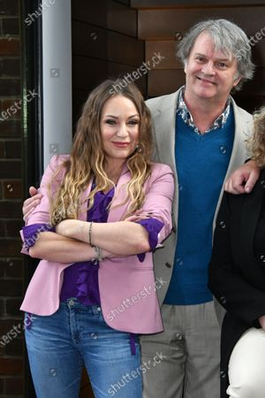 Rita Simons and Paul Merton