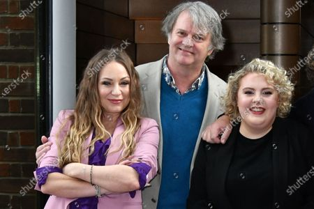 Rita Simons, Paul Merton and Lizzie Bea