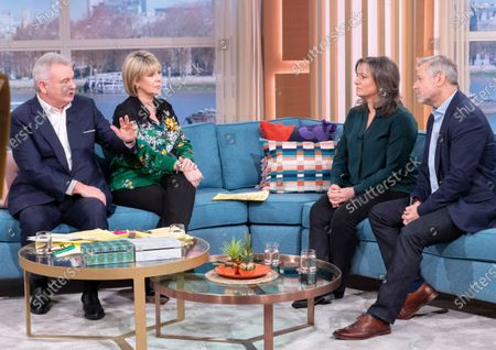 Stock Image of Eamonn Holmes, Ruth Langsford, Lucy Alexander and Philip Grindell
