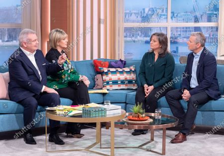 Stock Picture of Eamonn Holmes, Ruth Langsford, Lucy Alexander and Philip Grindell