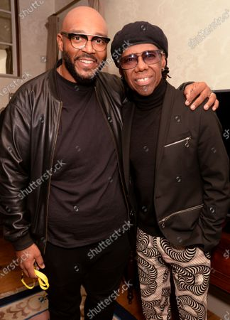 Editorial picture of 40th Brit Awards, Nile Rodgers Viewing Party, The Ned, London, UK - 18 Feb 2020