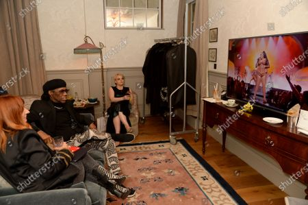 Nile Rodgers - backstage