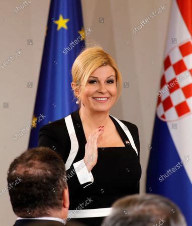 Editorial photo of New Croatian President Zoran Milanovic swearing-in ceremony in Zagreb, Croatia - 18 Feb 2020