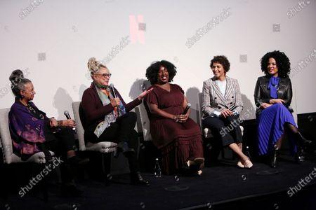 A'Leila Bundles, Kassi Lemmons, Nicole Asher Jefferson, Elle Johnson, Janine Sherman Barrois, Nekesa Moody