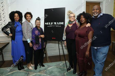Editorial photo of 'Self Made' AAFCA Screening and Reception, New York, USA - 17 Feb 2020