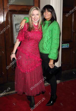 Claudia Winkleman and Victoria Coren-Mitchell