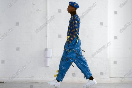 Editorial image of Bobby Abley - Runway - London Fashion Week Autumn Winter collections, United Kingdom - 18 Feb 2020