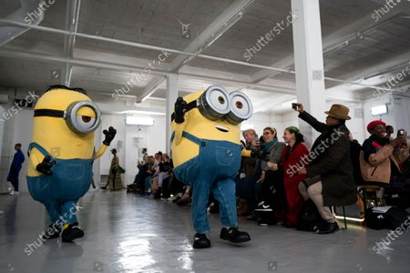 Models present creations by Bobby Abley during the London Fashion Week, in London, Britain, 18 February 2020. The Women's Autumn-Winter 2020/2021 collections are presented at the LFW until 18 February 2020.