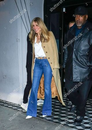 Stock Picture of Alana Stewart at Craig's Restaurant
