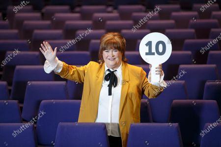 Stock Photo of Susan Boyle