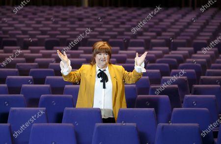 Editorial image of Susan Boyle 'The Ten Tour' photocall, Glasgow, Scotland, UK - 18 Feb 2020