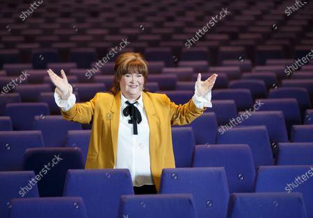 Editorial picture of Susan Boyle 'The Ten Tour' photocall, Glasgow, Scotland, UK - 18 Feb 2020