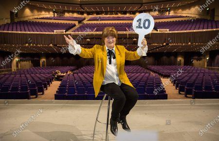 Editorial photo of Susan Boyle 'The Ten Tour' photocall, Glasgow, Scotland, UK - 18 Feb 2020