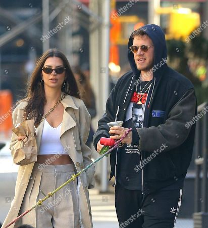Editorial picture of Emily Ratajkowski out and about, New York, USA - 17 Feb 2020