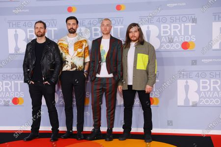 Editorial photo of The Brit Awards 2020 - Arrivals, London, United Kingdom - 18 Feb 2020